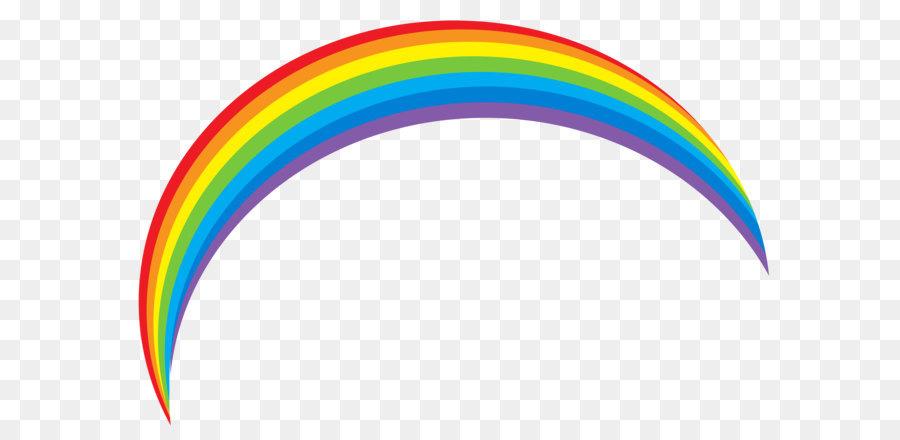 Rainbow clipart transparent 1 » Clipart Station.