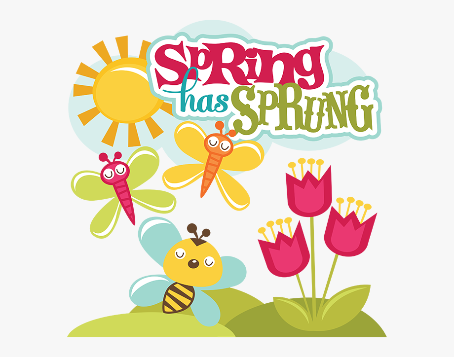 Image Result For Spring Is Sprung Clipart.