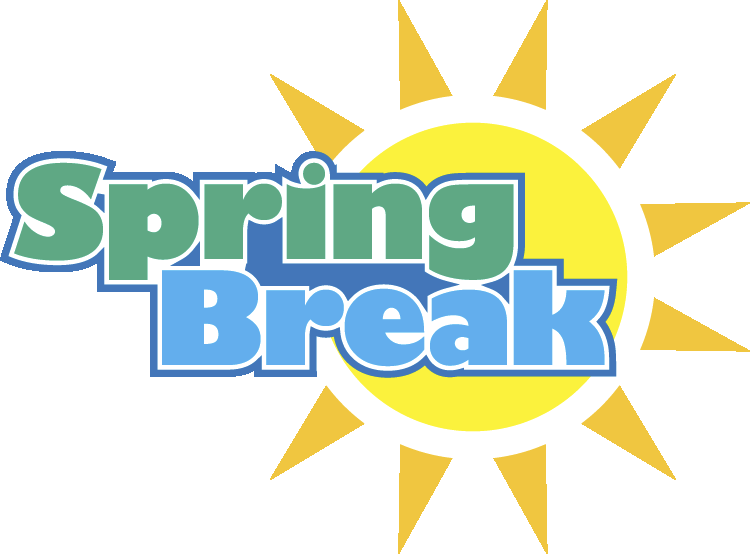 Spring Break Clipart Transparent.