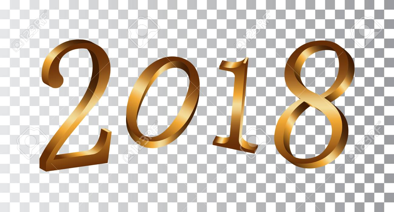 Happy New Year Transparent Clipart.