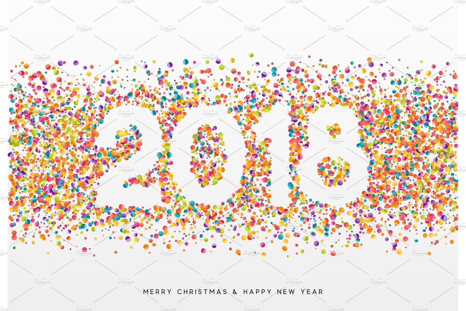 2018 clipart confetti, 2018 confetti Transparent FREE for.