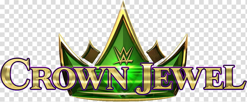 WWE Crown Jewel Logo transparent background PNG clipart.