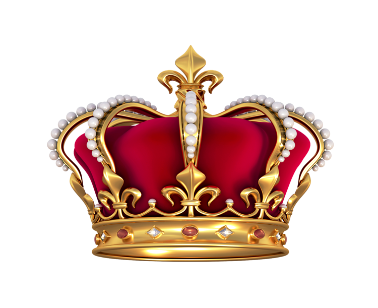 French Crown With Pearls PNG Clipart Pic #59262.
