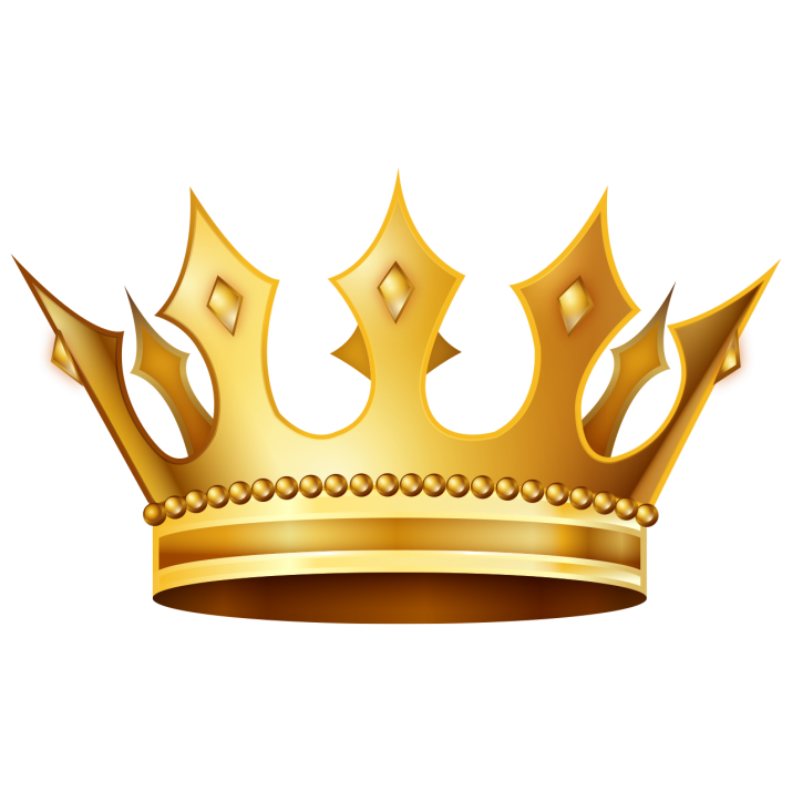 Crown Clipart PNG Image.