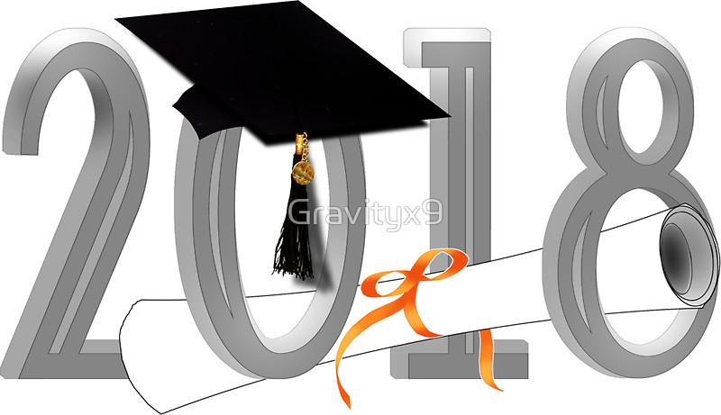 Graduation Clipart 2018.
