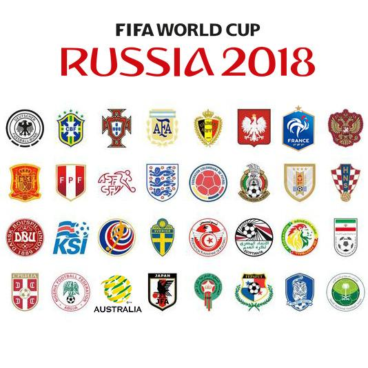 2018 FIFA World Cup Team Logo Wax Seal Stamp.