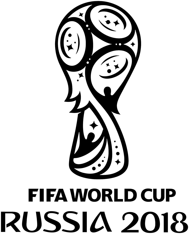 Amazon.com: Maple Enterprise FIFA World Cup 2018 Logo Black.