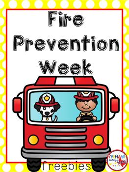 Fire Prevention Week Logo.