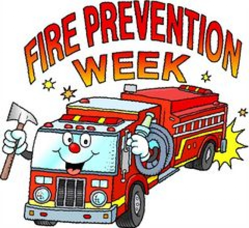 Fire Prevention Month Clipart.
