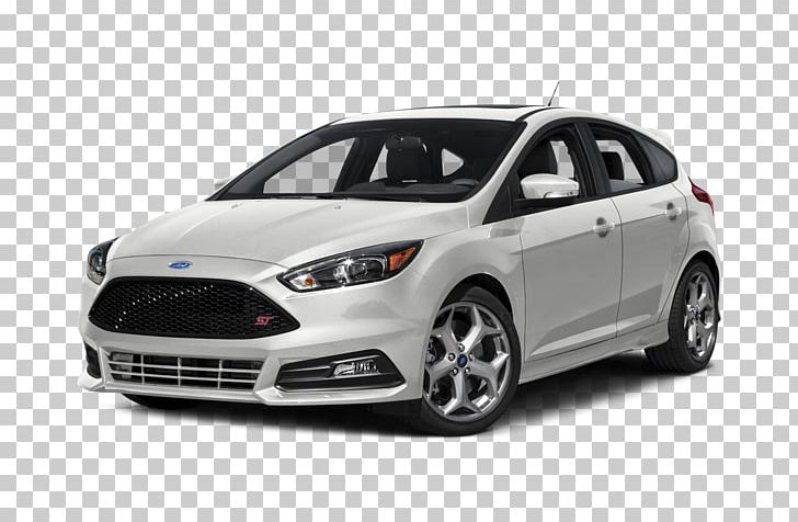 2018 Ford Focus ST Hatchback Car Manual Transmission PNG.