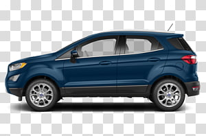 2018 Ford Ecosport Titanium transparent background PNG.