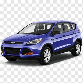 2018 Ford Escape Titanium cutout PNG & clipart images.