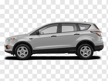 2018 Ford Escape S Suv cutout PNG & clipart images.