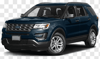 2017 Ford Explorer Sport cutout PNG & clipart images.