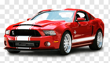 2018 Ford Mustang cutout PNG & clipart images.