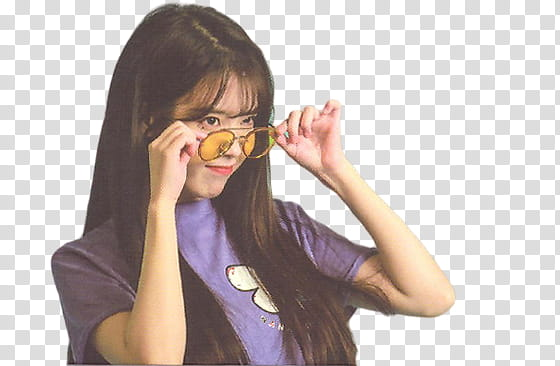 IU SEASON S GREETINGS PT, girl wearing eyeglasses with.