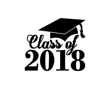 Class of 2018 Graduation instant download cut file for cutting.
