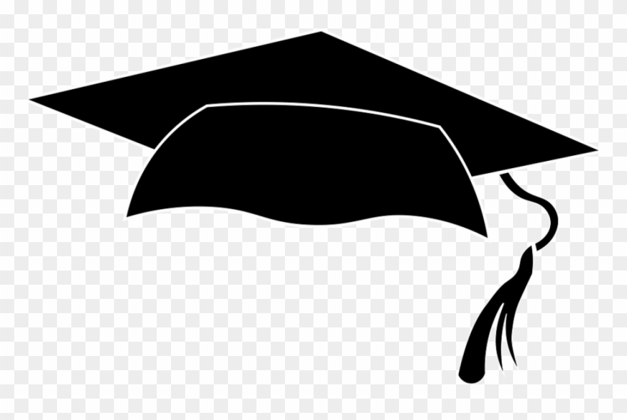 Transparent Background Graduation Cap Clipart.