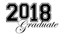 5868 Graduation free clipart.