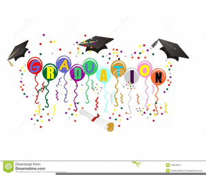 Graduation Confetti Clipart.