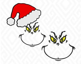 Grinch Face Clipart at GetDrawings.com.