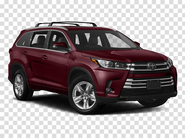 Toyota Highlander Limited AWD SUV Sport utility vehicle 2018.