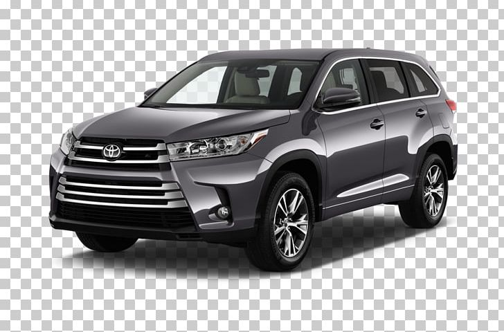 2018 Toyota Highlander Hybrid Car Sport Utility Vehicle.