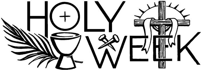 2018 clipart holy week, 2018 holy week Transparent FREE for.