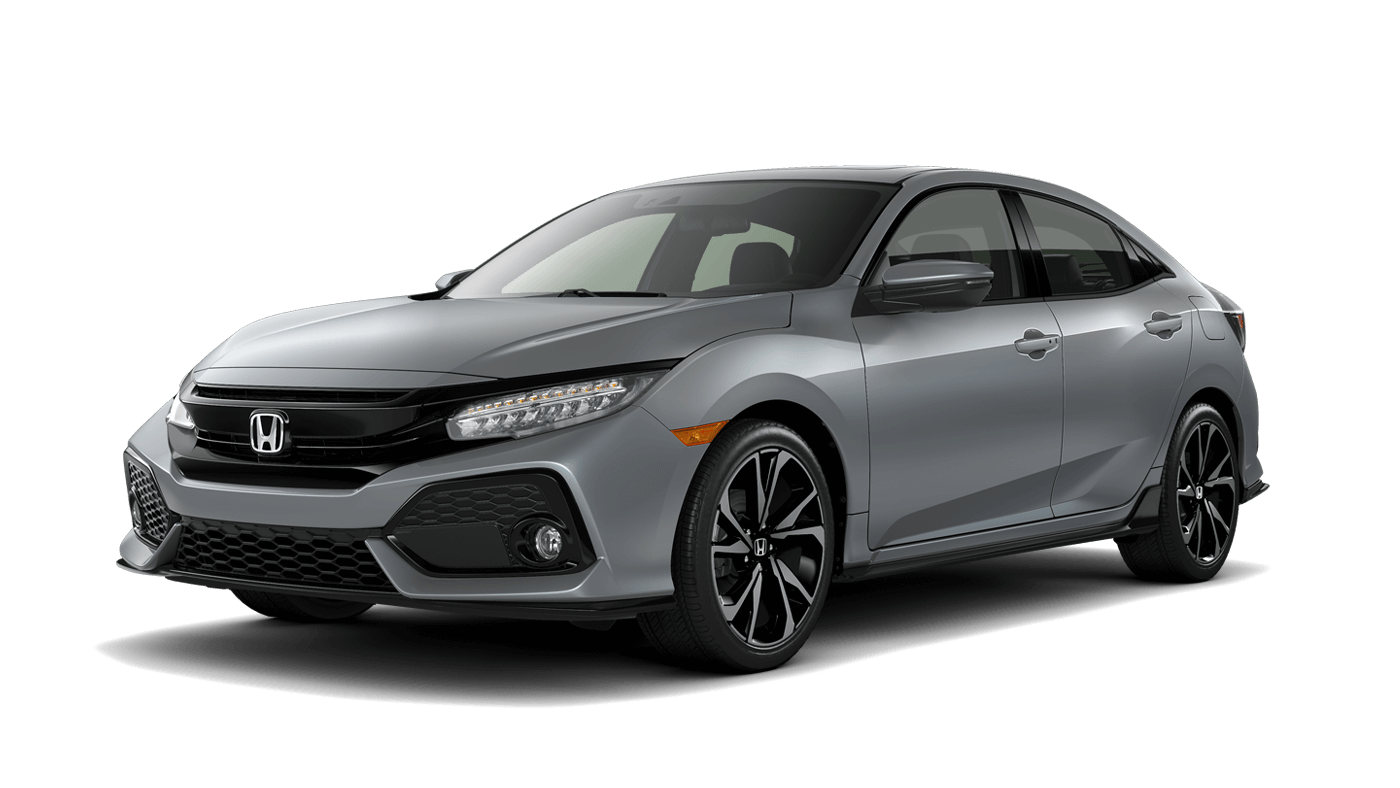 2018 Honda Civic Hatchback.