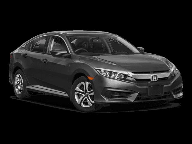 New 2018 Honda Civic LX FWD 4D Sedan.