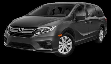 2018 Honda Odyssey.