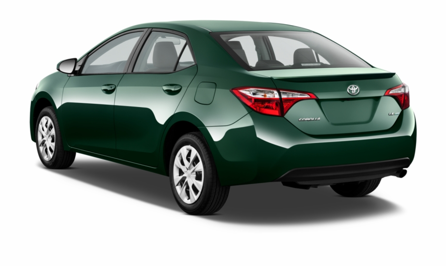 Toyota Corolla 2018 Green , Png Download.