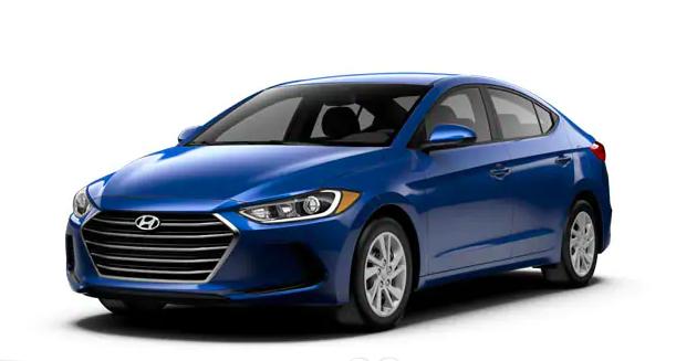 Ace of Base: 2018 Hyundai Elantra SE.