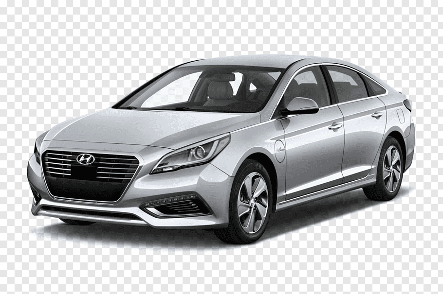 2018 Hyundai Sonata Sedan cutout PNG & clipart images.
