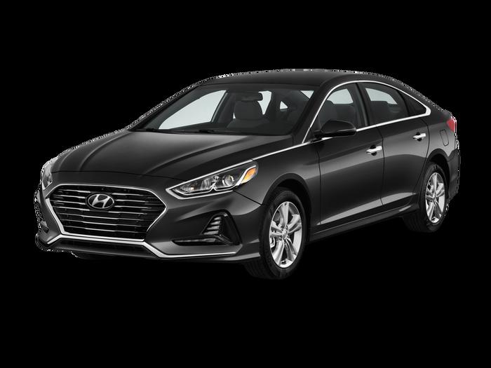 Used 2018 Hyundai Sonata SEL+.