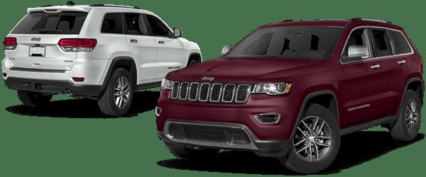 Jeep Grand Cherokee Comparison.