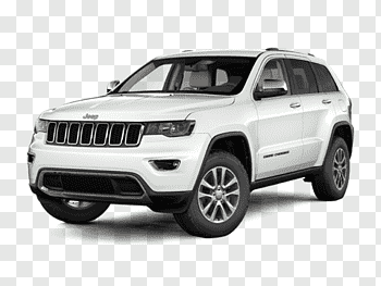 2018 Jeep Grand Cherokee Limited cutout PNG & clipart images.