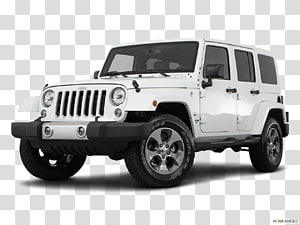 Jeep Wrangler Jk Unlimited transparent background PNG.