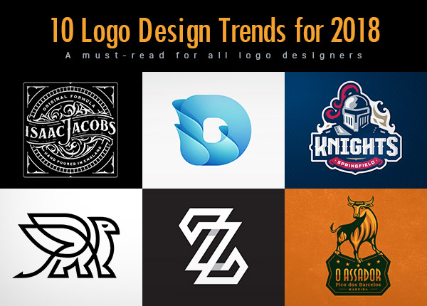 10 New Logo Design Trends for 2018.