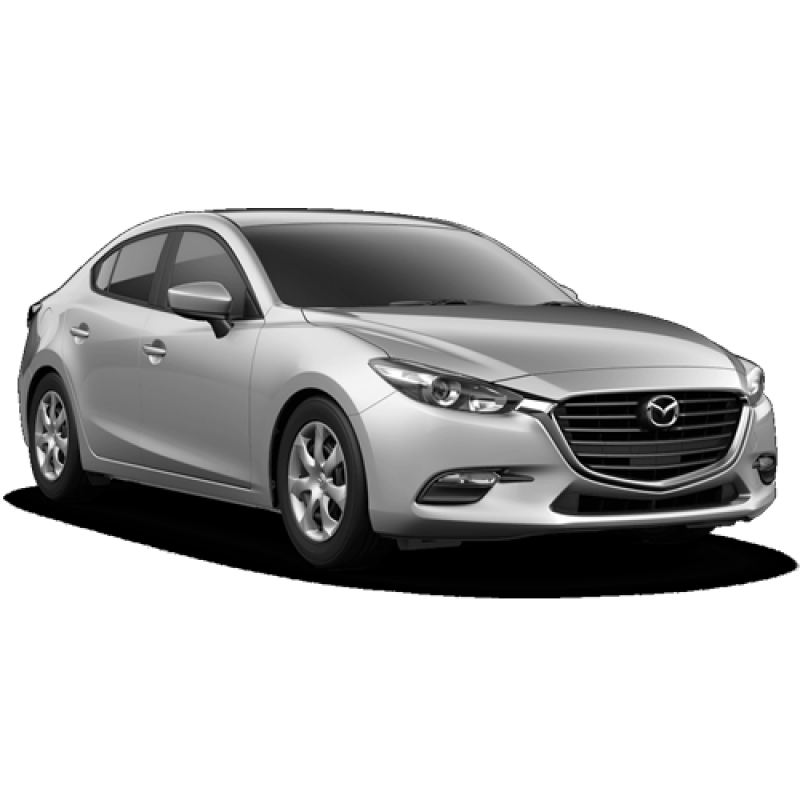 New 2018 Mazda3 Sport Base PNG Image.