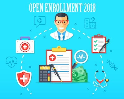 2018 Health Insurance Open Enrollment is almost here. States.
