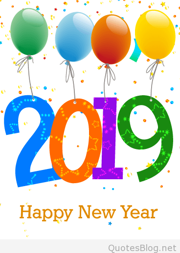 Happy New Year Clipart 2019 To Printable.