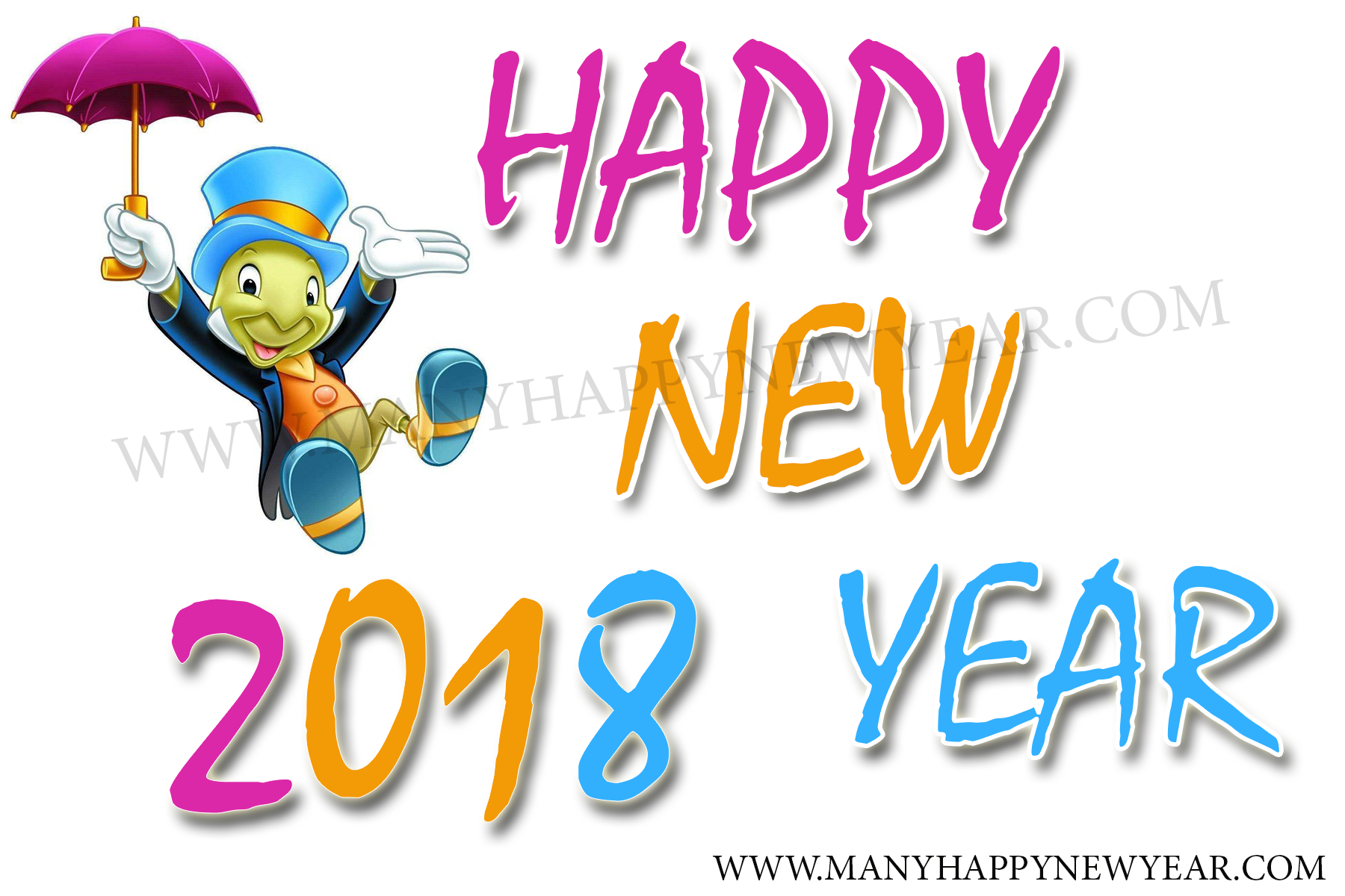 Happy New Year Clipart Wide & Clip Art Images #11335.