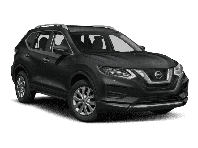 New 2018 Nissan Rogue S AWD.