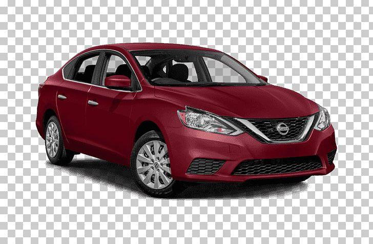 2018 Nissan Sentra SV Sedan Car Front.