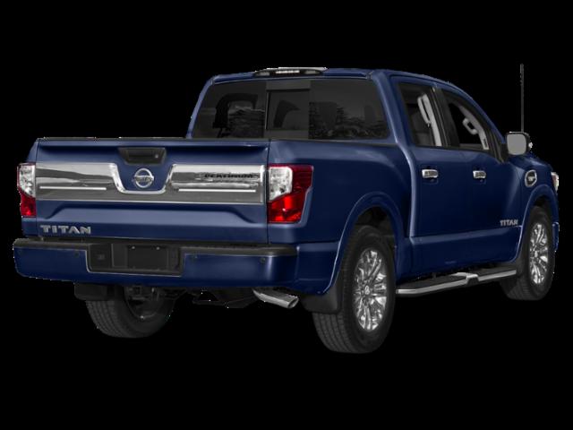 New 2018 Nissan Titan Platinum Reserve 4WD.