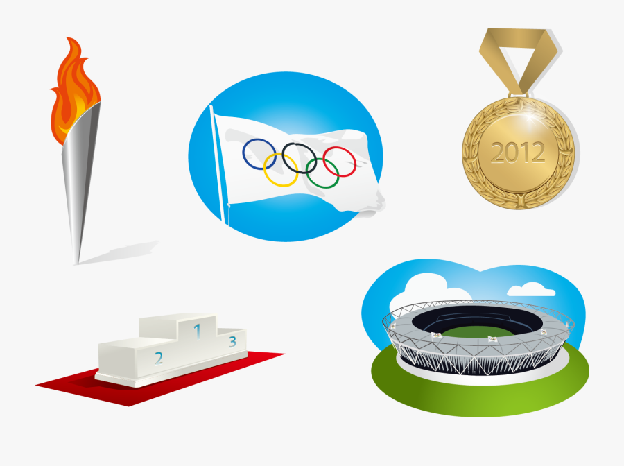 Summer Winter Landmarks Vector 2020 2018 Olympics Clipart.