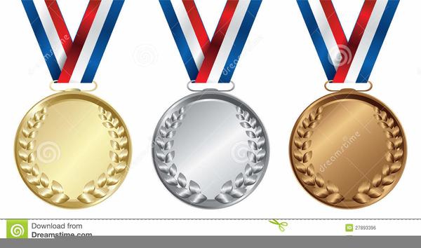 Clipart Pictures Of Olympic Medals.