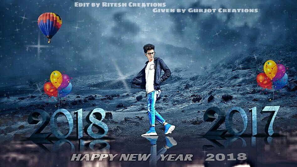New year editing background and png download.