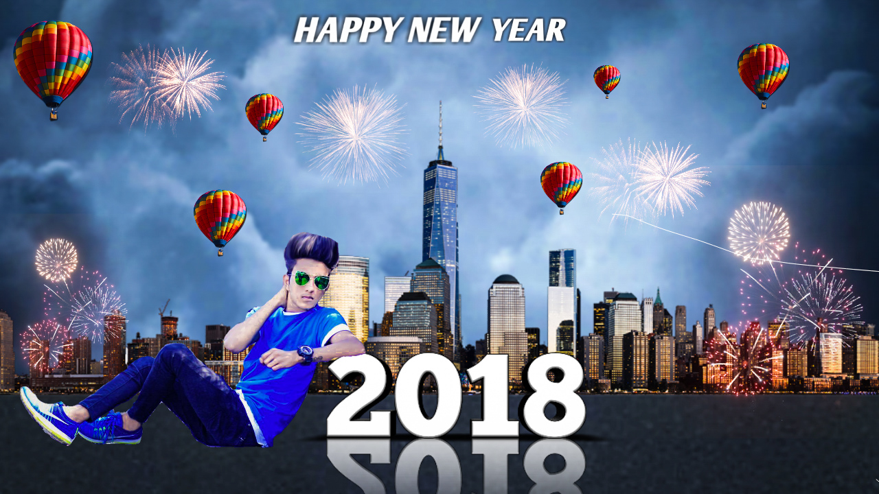 New Year Editing png 2018.